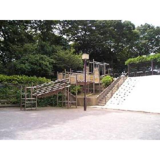 公園「目黒区民センター公園まで800m」不動公園