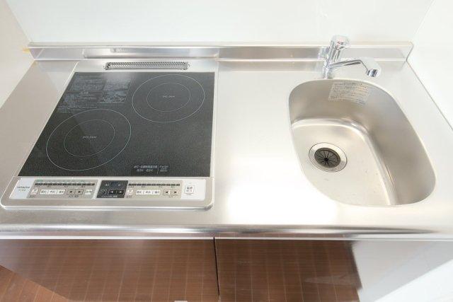 システムキッチン(2口IHコンロ)