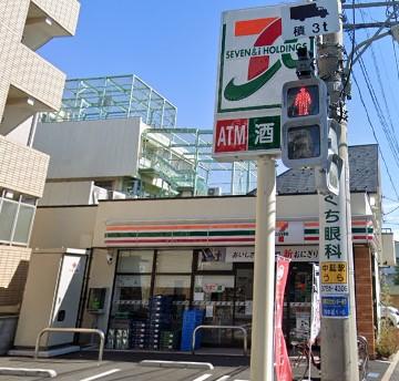 【コンビニエンスストア】セブンイレブン 品川西中延1丁目店まで554m