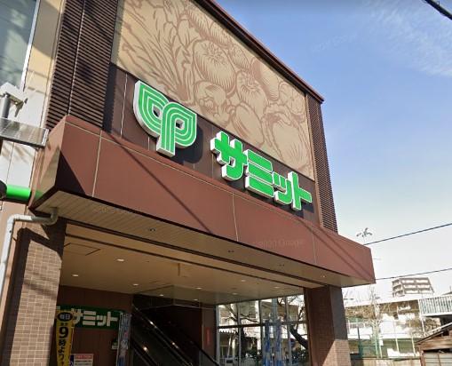 【スーパー】サミットストア 荏原4丁目店まで437m