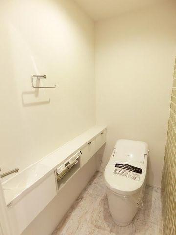 ■手洗器つきのトイレ