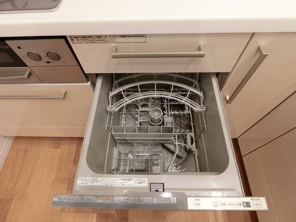 ■時間を大切に使える食洗機つき