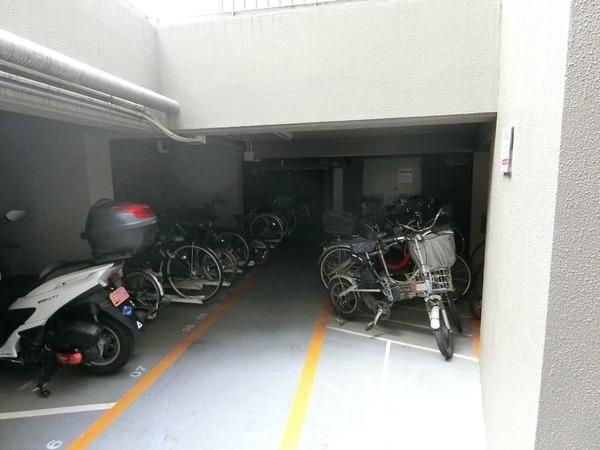 整頓された駐輪場