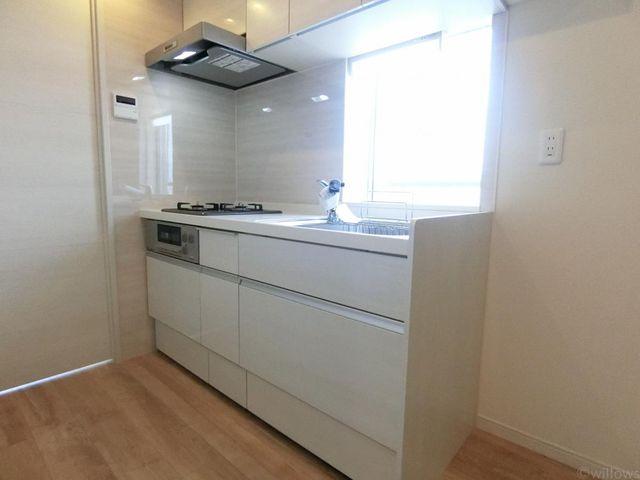 背面キッチンを採用しております。