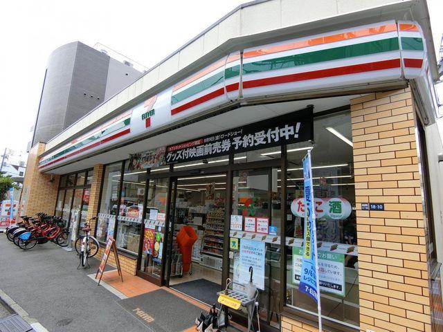 セブンイレブン高田馬場3丁目中央店 徒歩2分。 160m