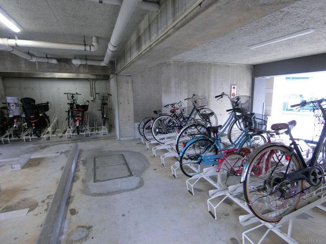駐輪場空きありです。