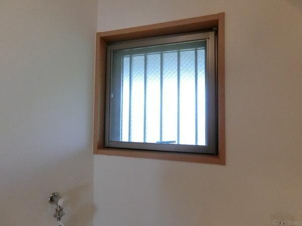 水回りに窓があると嬉しいですね