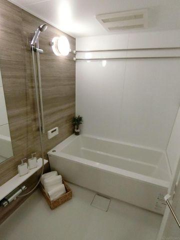 浴室乾燥機完備で雨の多い季節にも便利です