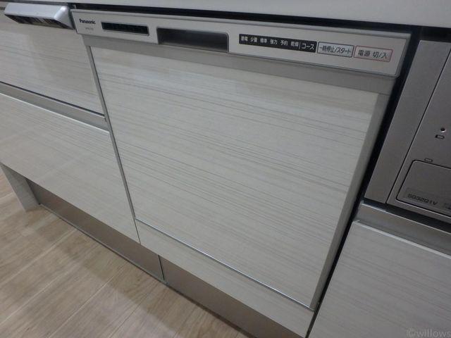 食洗器も付いておりますので毎日の食器洗いに便利です。