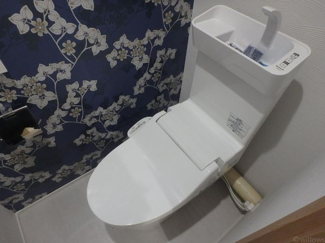 温水洗浄付きトイレ
