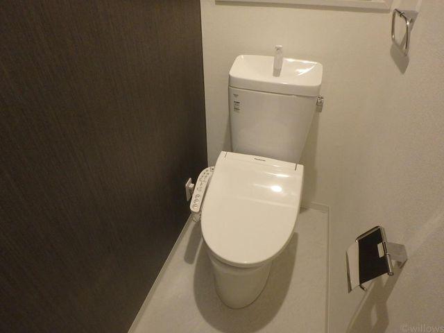 温水洗浄便座に交換されており利便性が高いです。