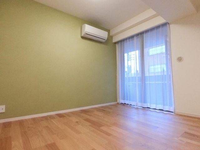 全居室にエアコンが完備されており、初期費用の節約になりますね!