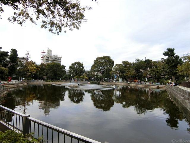 清水池公園 徒歩11分 600m