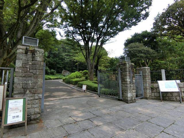 池田山公園 徒歩8分。 600m