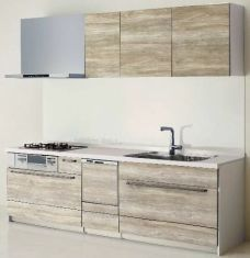 ■キッチンイメージ:食洗器オプション付でお料理も快適に。カラーセレクト可能です。お掃除も快適なサイレントシンク。