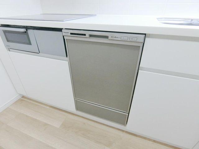 食洗器有。家事も楽々です。
