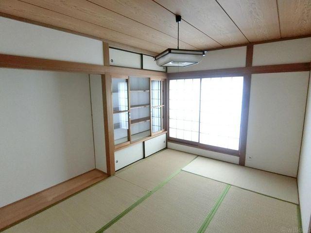 6畳和室は洋室に変更いたします。