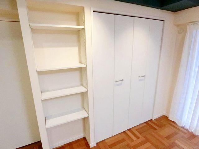 収納スペースも広くご利用頂きやすいです。