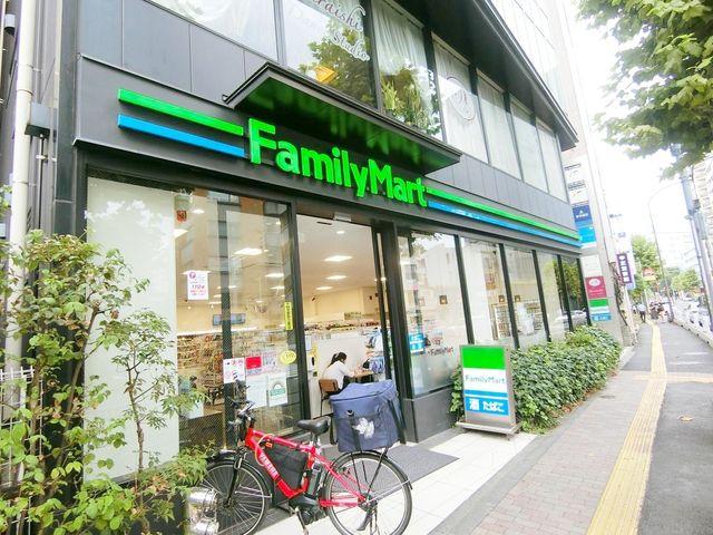 ファミリーマート広尾駅前店 徒歩6分。 430m
