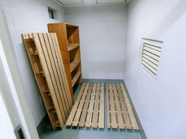 専用のトランクルーム完備。スーツケースやゴルフバッグなど、室内に置くとかさばってしまうものはぜひこちらに。