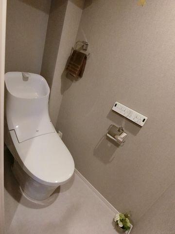 【トイレ】新規交換済みのトイレ、があります。