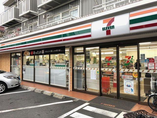 セブン‐イレブン/大田区久が原3丁目店 徒歩11分。 860m