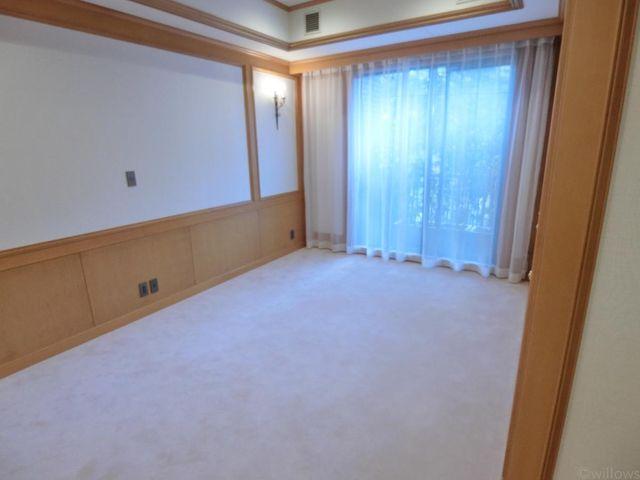 7畳ベッドルームです。形が良く、柱や梁がないため、レイアウトもしやすいかと思います。