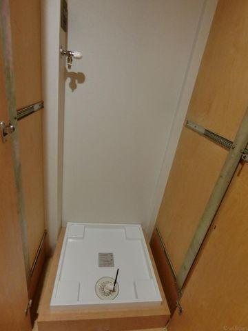 清潔感のある洗面所には、きれいな防水パンがございます。