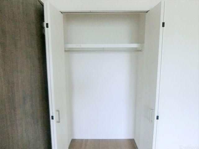 収納はリビング、各居室に設置。室内に余計なものを置く必要がないのでスッキリお使い頂くことが出来ます。