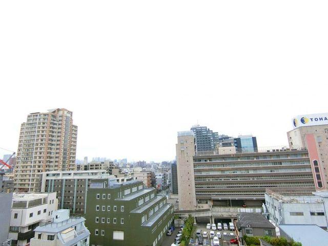 高い建物がないため、開放感のある眺望となります。遮るものがないので風通りも期待できます。