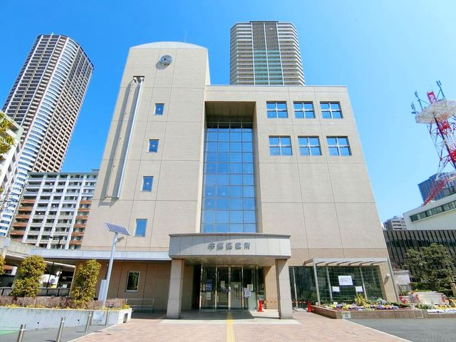 川崎市中原区役所 徒歩4分。 310m