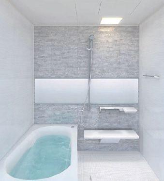 新規交換のバスルームは、浴室乾燥機付きで便利です。清潔感のある色合いで、毎日の疲れを癒してください。※同仕様イメージ写真(変更になる可能性がございます。)