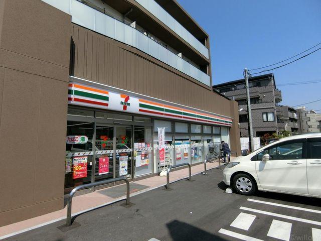 セブンイレブン川崎神地店 徒歩3分。 200m