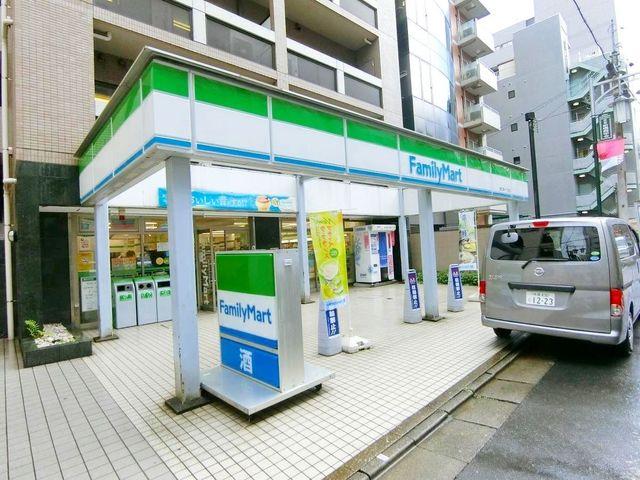 ファミリーマート恵比寿駅東店 徒歩6分。 460m