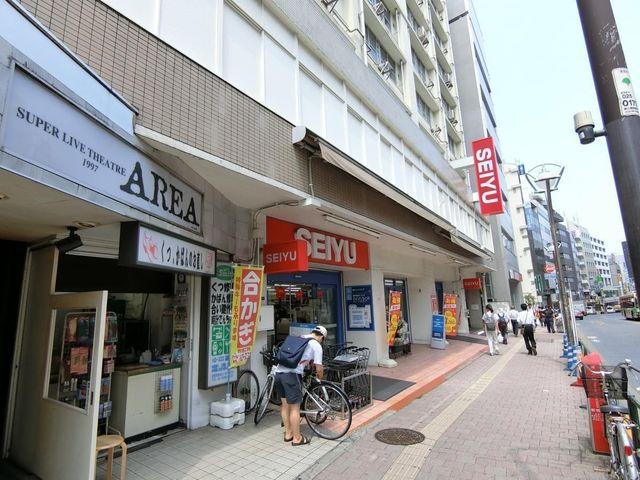 西友高田馬場店 品揃え豊富の西友、徒歩6分。色々なスーパーがあるのは嬉しいポイントですね。 410m