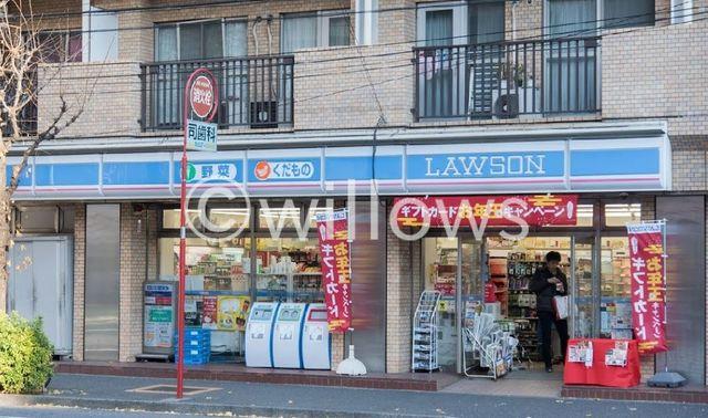 ローソン新宿山吹町店 1m