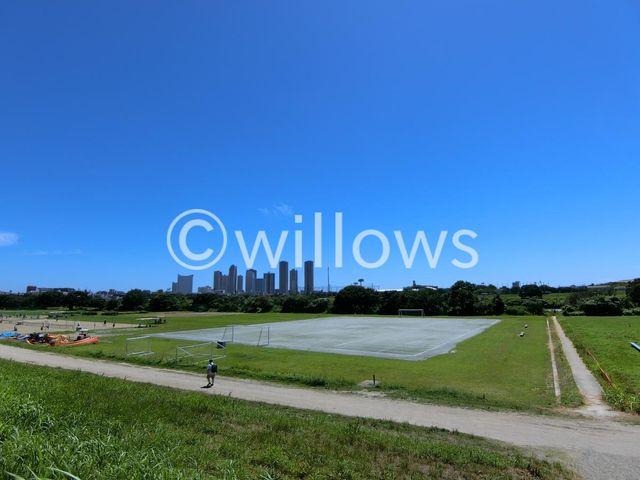 多摩川玉川公園 徒歩9分。 670m