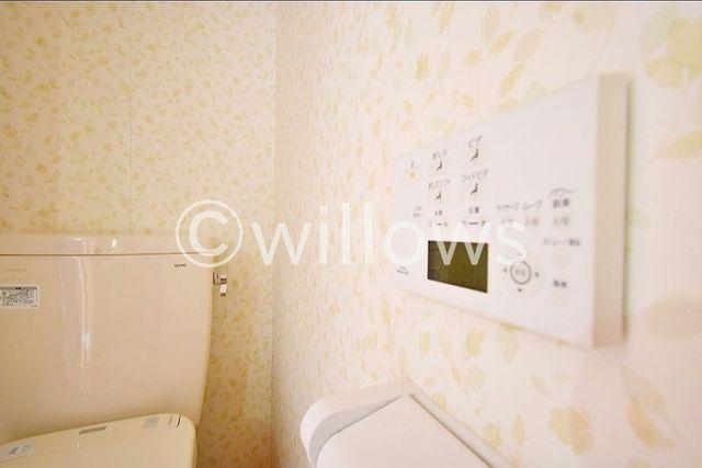 快適に過ごせそうなトイレです。