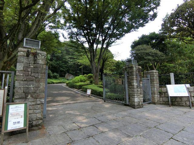 池田山公園 380m
