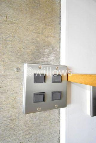 電気のスイッチ一つにもこだわりを。