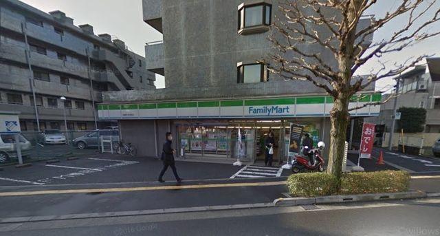 ファミリーマート武蔵野中町新道店 徒歩1分。 80m