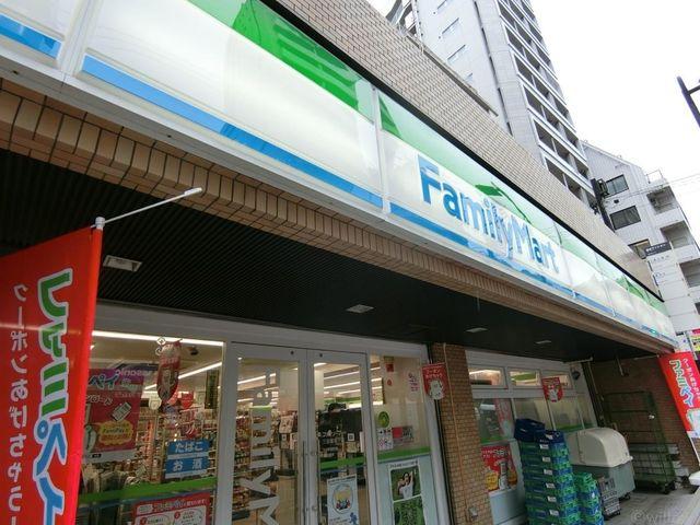 ファミリーマート/三田聖坂下店 徒歩6分。 480m