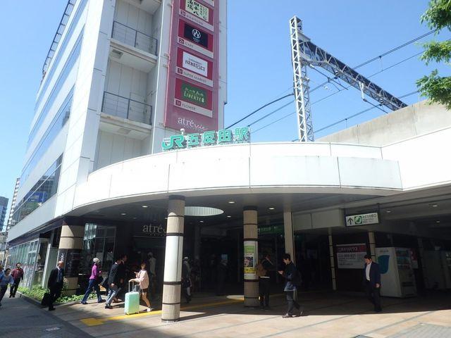 五反田駅(JR 山手線) 徒歩8分。 580m